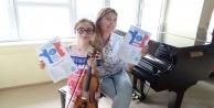 Konservatuvar öğrencisine Pariste ikincilik ödülü