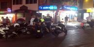 Alanya#039;da polis, yayaları tehlikeye atan motosikletlilere ceza kesti