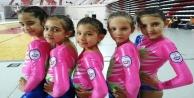 Alanya#039;nın minik jimnastikçileri Antalya şampiyonu oldu