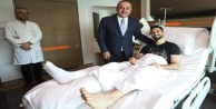 Bakan Çavuşoğlu#039;ndan Emre Akbaba#039;ya ziyaret