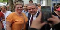 Başkan Böcek İstanbulda Antalyalı hemşehrileri ile buluştu