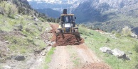 Böcek, Alanya'daki yayla yollarını sezona hazırlıyor