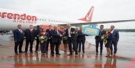 Corendon Airlines Kölnden sezonun ilk uçuşunu gerçekleştirdi