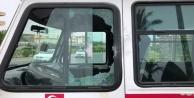 Alanya#039;da kırmızı ışıkta bekleyen sürücüye pompalı saldırı
