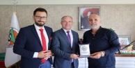 KKTC'nin Antalya Başkonsolosu'ndan ziyaret