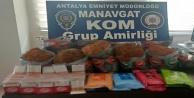 Manavgatta çeşitli suçlara karışan 4 kişi yakalandı