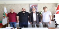 MHP'li Öbekçi'den Alanyaspor'a taziye ziyareti