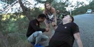 Rus çift elektrikli bisikletle ölümden döndü