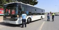 12 halk otobüsü ve 6 ticari taksiye para cezası