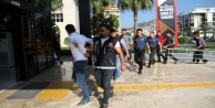 Alanya#039;da 10 zehir taciri adliyeye sevkedildi