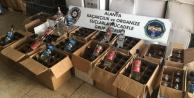 Alanya#039;da 3 otele kaçak içki baskını