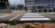 Alanya#039;da asfalt ve yol çalışmalarına ara verilmiyor