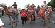 Alanya#039;da Festival Yörük göçü ve kortejle başladı