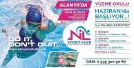 Alanya#039;nın yüzme okulu kayıtlara devam ediyor