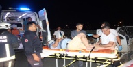 Alanyada 4 ayrı kazada 1i ağır 5 kişi yaralandı
