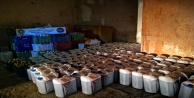 Alanyada 6 bin 570 litre kaçak ve sahte içki ele geçirildi