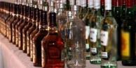 Alanyada bin 100 litre kaçak içki ele geçirildi