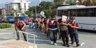 Alanya'da uyuşturucu operasyonu: 9 şüpheli adliyede