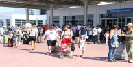 Antalya#039;ya havadan turist yağıyor