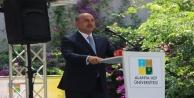 Bakan Çavuşoğlu, Alanyada mezuniyet törenine katıldı