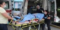 Falezlerden düşen genci polis kurtardı