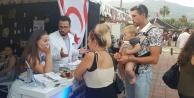 Festivalde Kıbrıs standına yoğun ilgi
