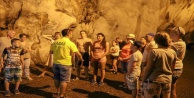 Gazipaşa#039;da 5 milyon yıllık mağara ziyaretçi akınına uğruyor