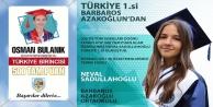 LGS#039;de Alanya 2 Türkiye birincisi çıkardı
