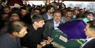 Menderes Türel#039;in annesi son yolculuğuna uğurlandı