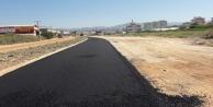 Payallar sanayi yolu asfaltlanıyor