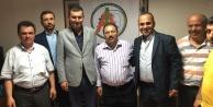 Türkdoğan ve Aksoy, Yıldırım#039;a destek için İstanbul#039;da