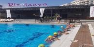 Alanya Nil Spor Kulübü yüzme okulu hızla devam ediyor