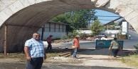 Alanya#039;nın tarihi köprüsünde çalışma başladı