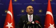 """Bakan Çavuşoğlu: """"Türkiye Cumhuriyeti, Türkiye'nin ve Kıbrıs Türk halkının hakkını sonuna kadar koruma konusunda kararlıdır"""""""