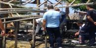 İtfaiye ekipleri söndürdüğü yangın enkazında ceset buldu