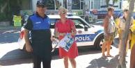 Polis Mini Coopear#039;la harita dağıttı