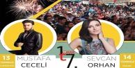 Tokar#039;da Mustafa Ceceli ve Sevcan Orhan heyecanı