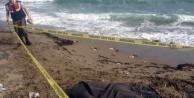 Alanya#039;da denizde kimliği belirsiz erkek cesedi bulundu
