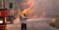 Alanya#039;yı korkutan orman yangını