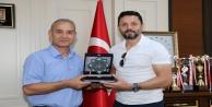Alanyaspor#039;dan Rektör Pınarbaşı#039;na ziyaret