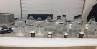 Antalya'da zirai ilaç bayine kaçak içki operasyonu
