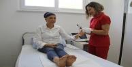 Egzamayla 22 yıldır mücadele kadın, hastalığı Alanya#039;da yendi
