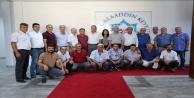 Kahramanmaraşlılar#039;dan Rektör Pınarbaşı#039;na ziyaret