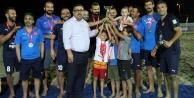 Alanya#039;da plajın şampiyonu belli oldu