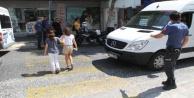 Alanya#039;da polis öğrenciler için görev başında