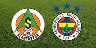 Alanyaspor Fenerbahçe maçının 11#039;leri belli oldu