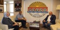 Başhekimden Başkan Şahin#039;e ziyaret