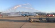 Gazipaşa Alanya Havalimanına ilk İran uçağı indi