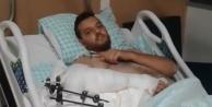 Konya#039;daki kazada yaralı kurtulan Alanyalı halciden haber var