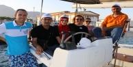 Rusya'dan Türkiye'ye gelip, ruhun yelkenlerinde buluştular